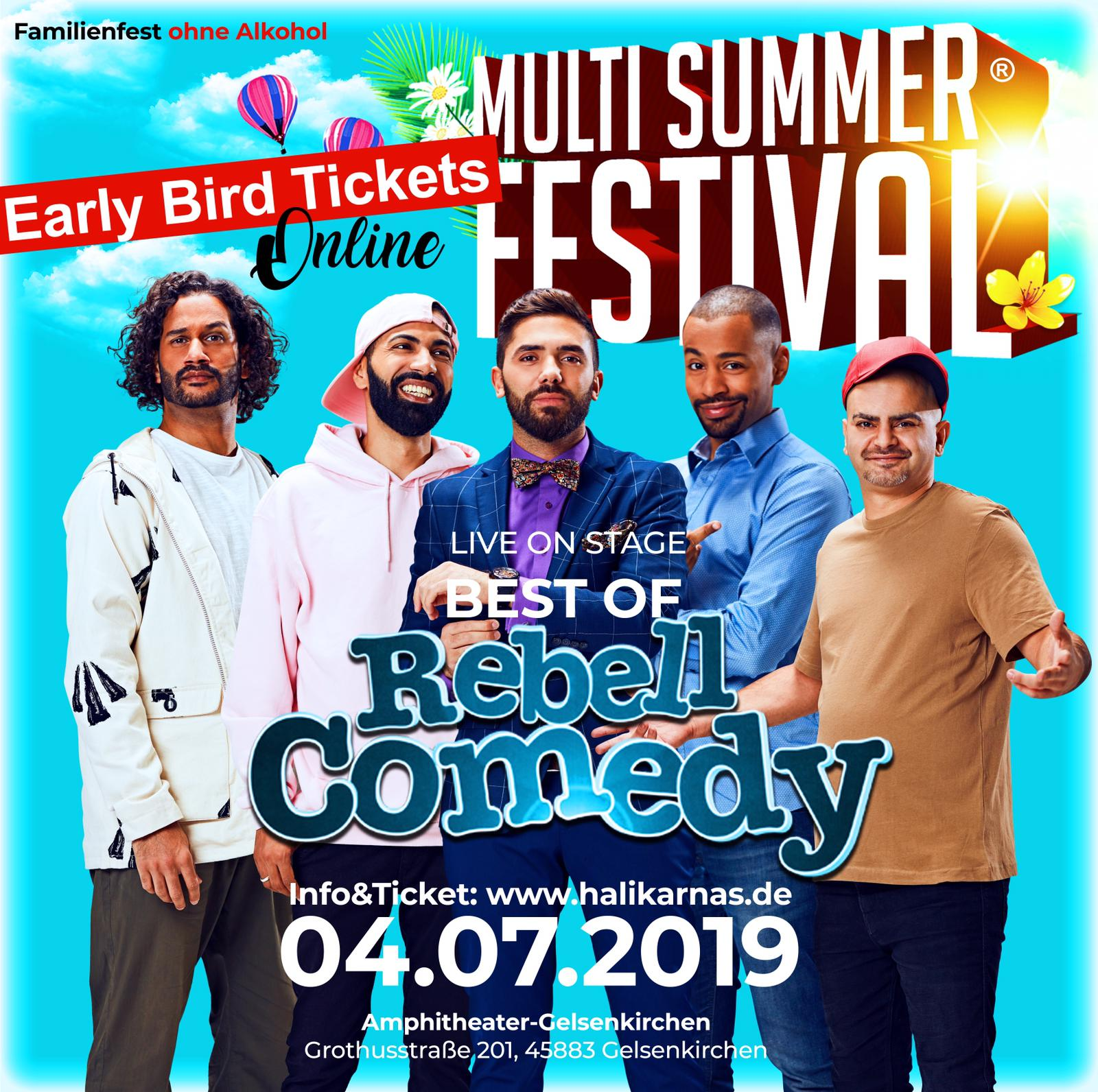 Multi Summer Festival: RebellComedy - Best of